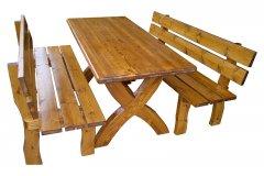 Σετ Σουηδικό με τραπέζι επικολλήτο